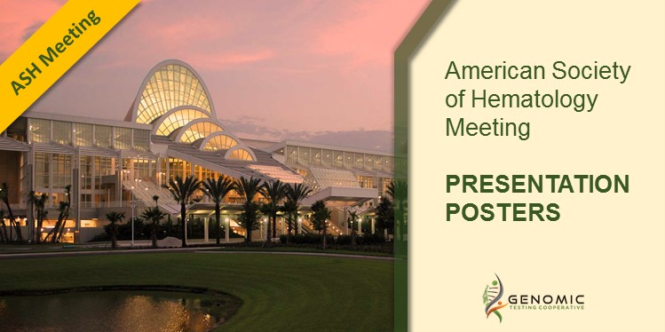 American Society of Hematology Meeting: PRESENTATION POSTERS